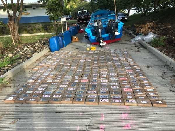Las autoridades decomisaron 407 kilos de cocaína. Foto: MSP para LN
