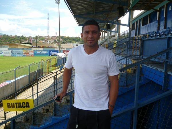Roberth Arias es uno de los jugadores más experimentados del Pérez Zeledón. El jugador llegó del Heredia de Guatemala esta temporada.   ARCHIVO