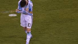 Lionel Messi renuncia a Argentina: 'Se terminó para mí la selección'