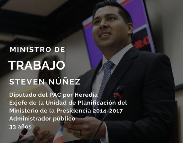 Steven Núñez.