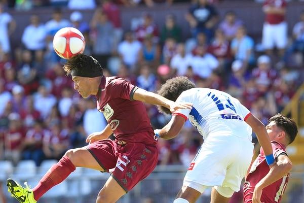 Christian Bolaños suma tres asistencias con el Saprissa en el presente certamen, además de cinco anotaciones. | RAFAEL PACHECO