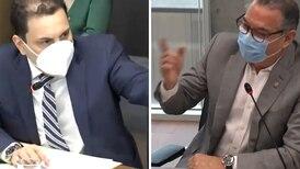 Carlos Ricardo Benavides y Roberto Thompson chocan por proyecto de comercio al aire libre