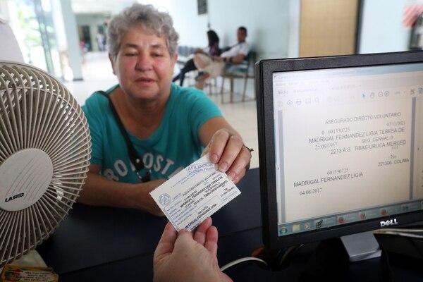 La Caja está capacitando e informando al personal para que desde setiembre ya no pidan el carné a los asegurados.