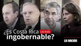 (Video) ¿Es Costa Rica un país ingobernable?