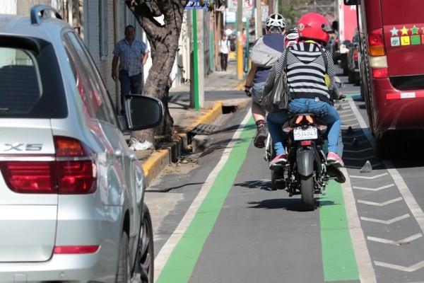 12/04/2018 Un recorrido por la ciclovía desde San Pedro hasta San José