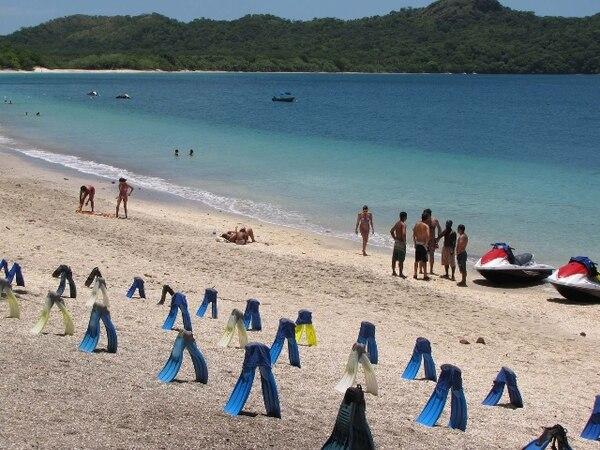 Playa Conchal ofrece unos dos kilómetros de arena blanca. | ARCHIVO