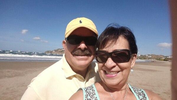 Fernando Barahona y Xenia Palomo hicieron su último paseo juntos a Corn Island, en Nicaragua. | CORTESÍA DE FERNANDO BARAHONA