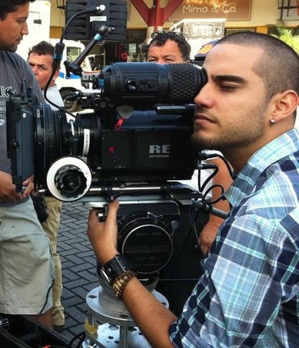 La publicidad también es una de las áreas de trabajo del director Marlon Villar. En estos proyectos también toma la cámara en sus manos.Foto:Cortesía Luz Marina.