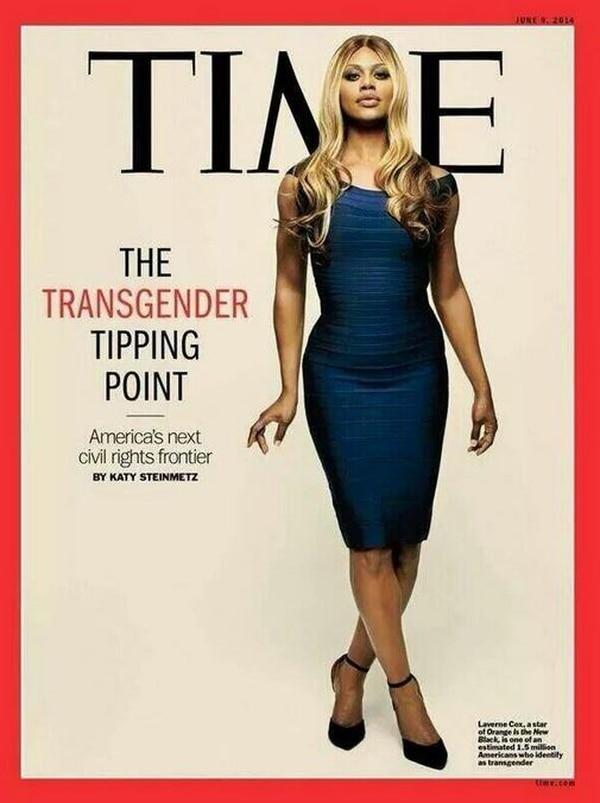 Laverne Cox aparece en la portada del 6 de junio de la revista
