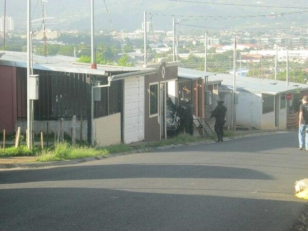 La acción policial seguirá para completar las capturas, informó la Fuerza Pública.