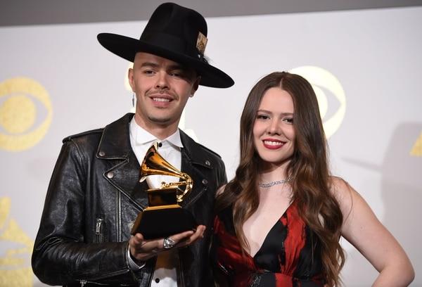 Los hermanos Jesse & Joy ganaron un premio Grammy.