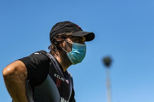 Andrés Carevic tiene la esperanza de que pronto se reanude el campeonato nacional. Fotografía: Rubén Murillo / Prensa Alajuelense