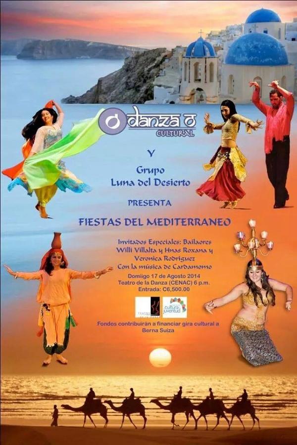 Afiche de actividad Fiestas del mediterráneo.