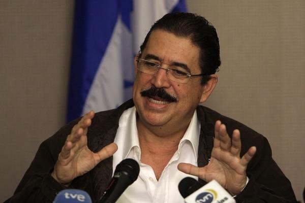 Zelaya desistió de seguir impugnando el resultado electoral. | ARCHIVO