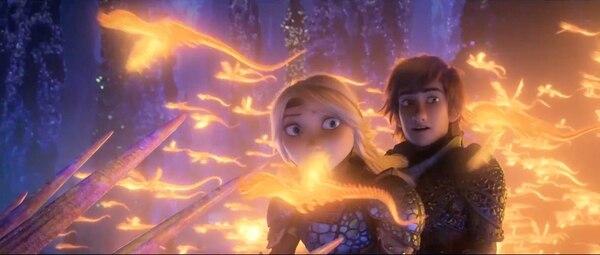 'Cómo entrenar a tu dragón 3' es la última película de la saga. Fotografía: DreamWorks Animation LLC.