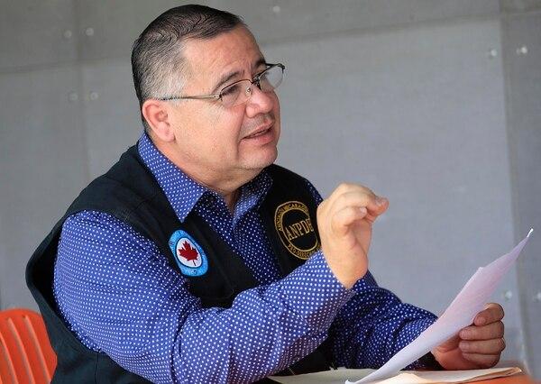 El defensor de derechos humanos de Nicaragua, Álvaro Leiva Sánchez, no cree que el gobierno de Daniel Ortega quiera hallar una salida a la crisis social en la mesa de diálogo. Foto: Rafael Pacheco