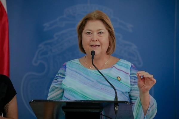 María Amalia Revelo, ministra de Turismo. Foto: Roberto Carlos Sánchez @rosanchezphoto