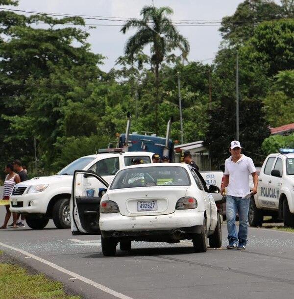 La vía estuvo cerrada casi dos horas, hasta que se realizó el levantamiento del cuerpo.
