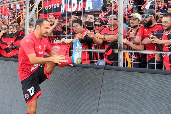 El Morera Soto volverá a este reventar este sábado, para el partido definitivo de la gran final entre Alajuelense y Herediano. Fotografía: Rafael Pacheco