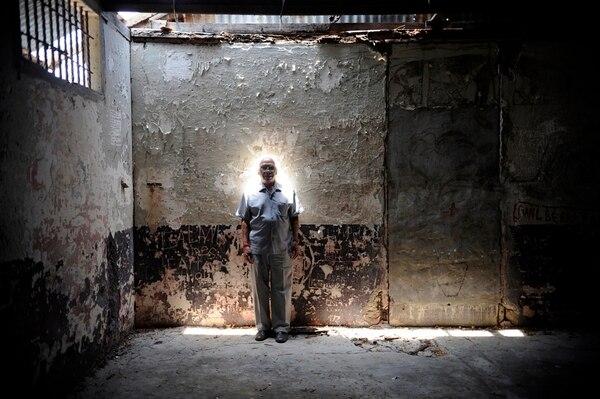 Entre 1950 y 1969, Sánchez cumplió su sentencia en la Penitenciaria Central, la isla San Lucas y la cárcel de Alajuela. | FOTO: DIANA MÉNDEZ.
