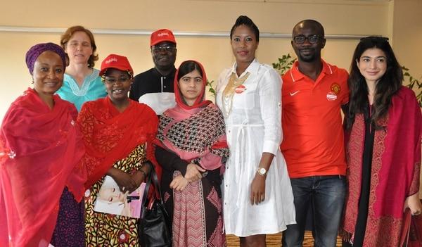 Malala invitó a las autoridades a actuar de manera seria para rescatar a las colegialas.