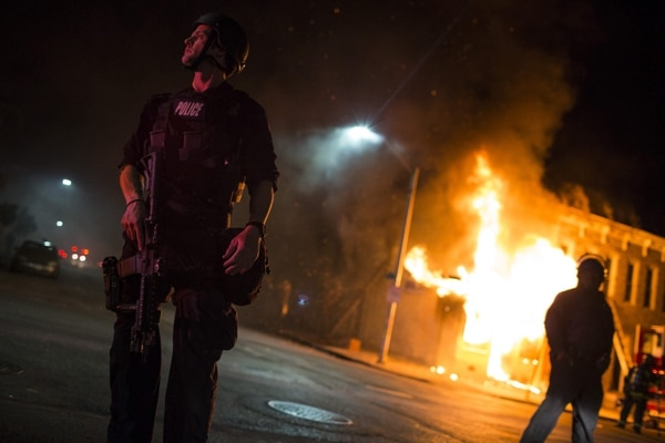 Crisis en Baltimore