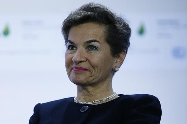 La costarricense Christiana Figueres encabeza la Secretaría Ejecutiva de la Convención Marco de Naciones Unidas sobre Cambio Climático. | AFP