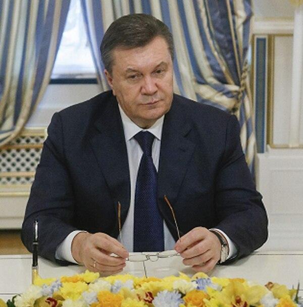 El presidente de Ucrania, Víktor Yanukóvich, había dicho que no dimitiría