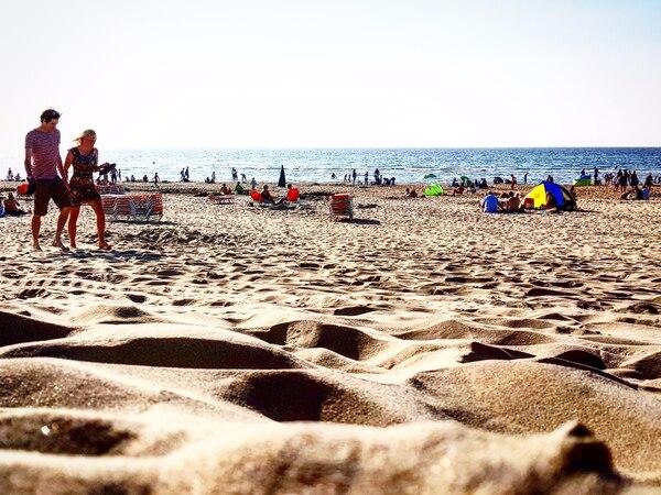 La playa en Harleem es uno de los lugares recomendados al visitar Países Bajos. Fotografía: Carlos Gutiérrez