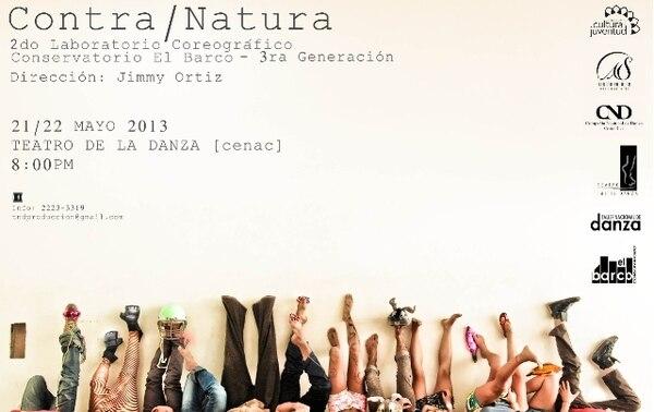Hoy y mañana se presentan 10 coreografías de danza contemporánea en el Cenac