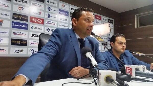 Jeaustin Campos afirma que Cartaginés dominó de principio a fin el juego ante Saprissa