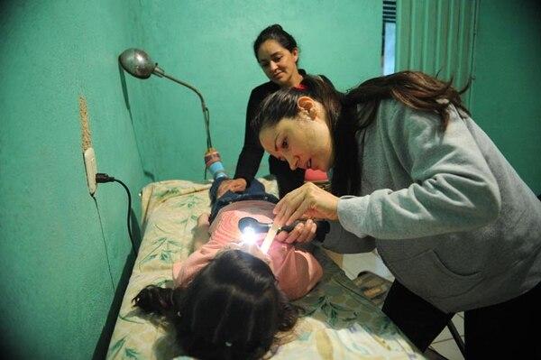 Potenciana recibe atención médica el tercer miércoles de cada mes. Fotos: Diana Méndez.