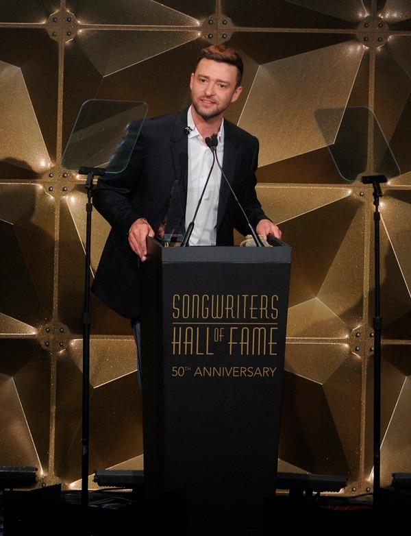 """Justin Timberlake recibió el galardón Contemporary Icon Award, entregado a los autores e intérpretes convertidos en """"íconos"""