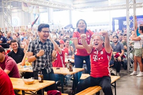 Durante la Expo Feria Alemana, se transmitirá el clásico del fútbol alemán (FC Bayern München - Borussia Dortmund).