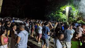 Fuerza Pública prepara intervención en recurrente sede de megafiestas en Puerto Viejo