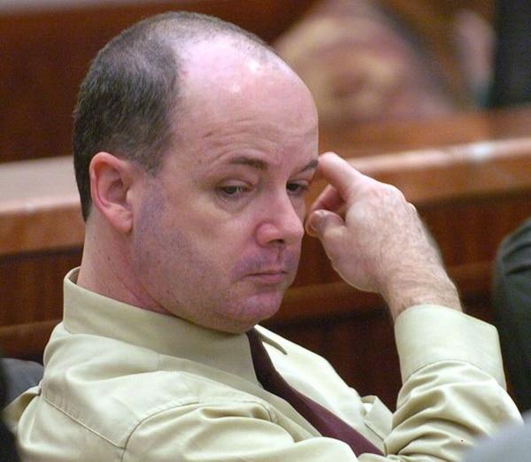 En esta foto de archivo del 18 de octubre de 2004, Anthony Shore aparece en la corte en el Centro de Justicia Criminal del Condado de Harris en Houston.