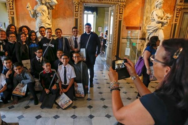 Las visitas guiadas, que son aprovechadas por estudiantes, turistas y transeúntes locales, quedan suspendidas por prevención ante la amenaza del covid-19. Fotos: Mayela López