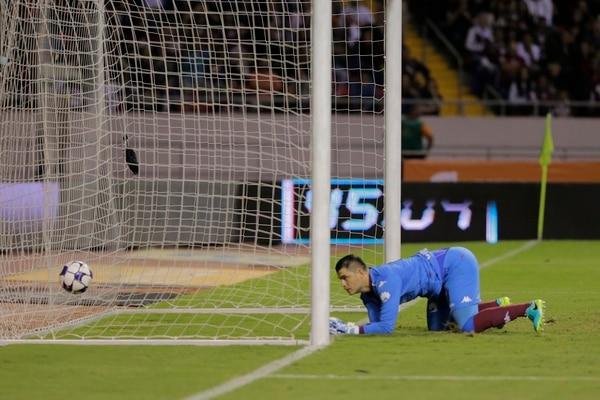 Saprissa recibió el tercer gol en tiempo de reposición.