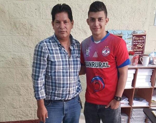 Jean Carlo Innecken jugará esta temporada con el Iztapa de Guatemala. Fotografía: Iztapa