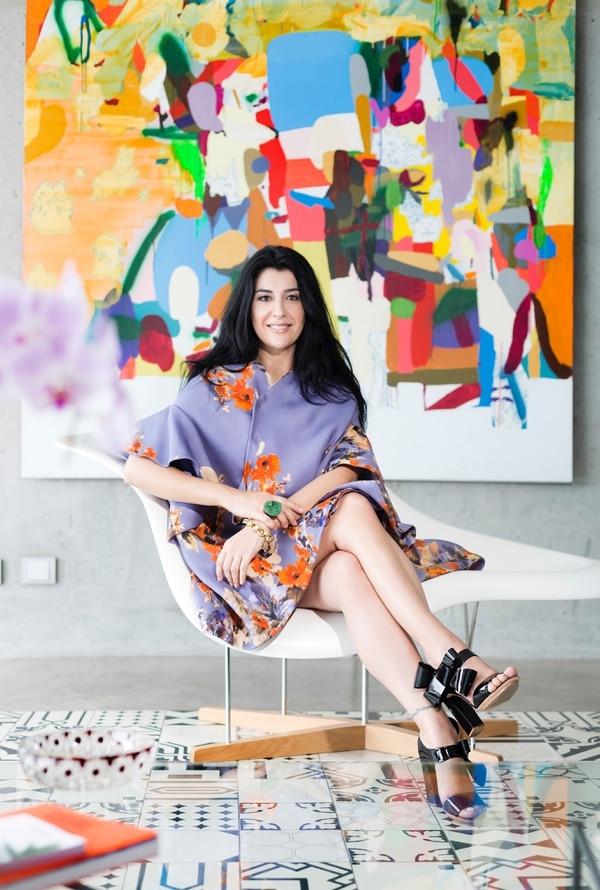 Esta promotora y filántropa, formó parte del jurado del Mercedes Benz Fashion Week.