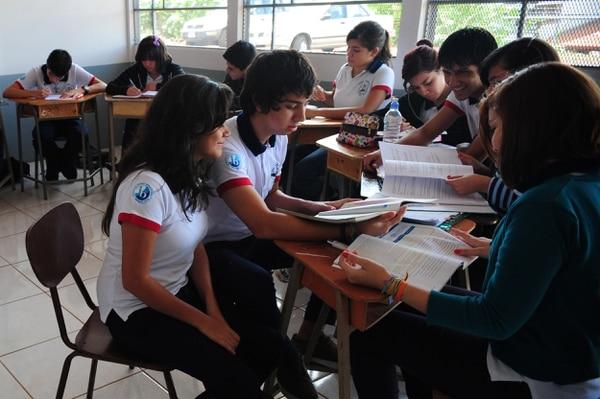 El colegio Gregorio José Ramírez en Alajuela es una de las siete instituciones públicas que brinda el BI en Costa Rica.