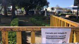 Municipalidad de San José gasta ¢60 millones en  cercar parques por pandemia