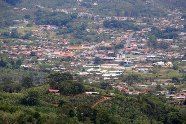 En la zona de Los Santos se registraron algunos de los enjambres sísmicos en el 2018, que captaron la atención de los investigadores. Foto: Rafael Pacheco