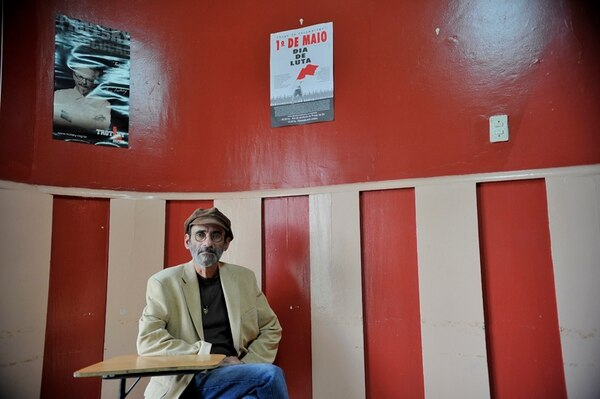 Héctor Montestel, fundador del Partido de los Trabajadores. MAYELA LÓPEZ