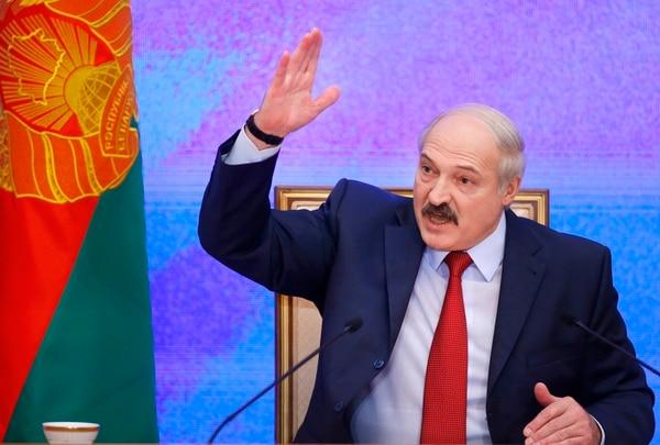 Alexander Lukashenko está sujeto a sanciones desde enero de 2011, luego de la última elección presidencial, de diciembre de 2010.