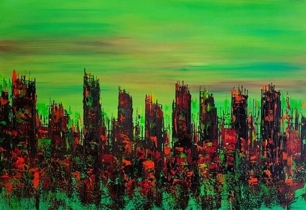Obra de la artista Liseth González. Cortesía: Galería Bogarte