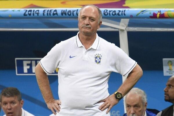 Felipao Scolari es el blanco de la ira de la prensa brasileña. | AFP