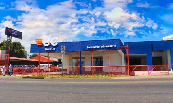 E.C. Rent a Car está ubicado en las cercanías del aeropuerto Juan Santamaría, carretera a Río Segundo, Alajuela y tiene una flota vehicular de 120 unidades. Foto: Cortesía E.C. Rent a Car