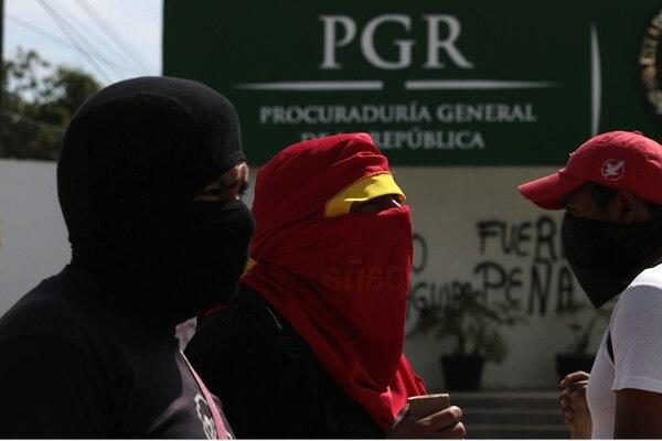Durante esta semana también tomaron el control de las oficinas del tribunal electoral y de la fiscalía general en Chilpancingo