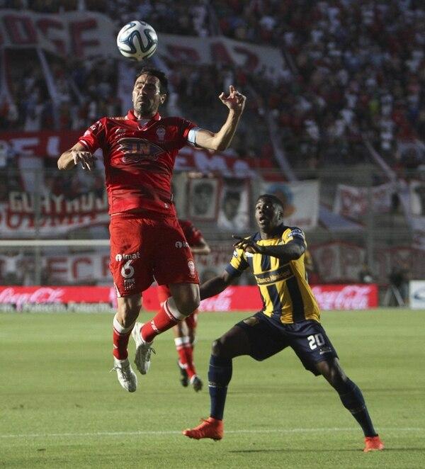 El Rosario Central perdió la final de Copa ante Huracán. | EFE